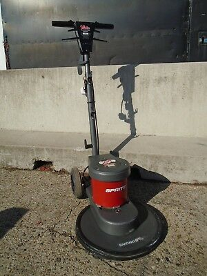 "Victor sprite 400 15"" Floor Buffer Polisher Cleaner std speed 240v"