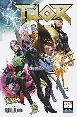 THOR #7 LAND UNCANNY X-MEN VARIANT - MARVEL COMICS - G885 - PreOrder 14.11.2018