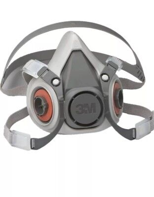 New 3M Half Face Respirator Facepiece 6100 Small Respirator mask