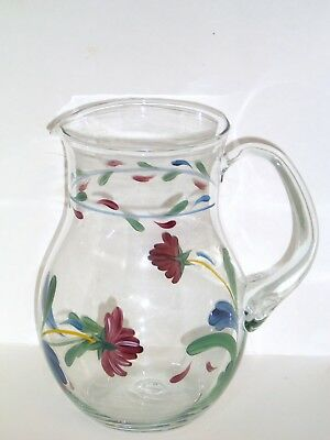 Lenox POPPIES ON BLUE (FOR THE BLUE) 64 Oz Pitcher