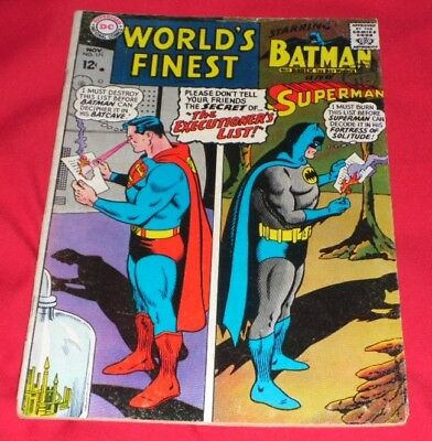 Worlds_Finest 171# Nov 1967The Executioners List Great At 1.99P Start !