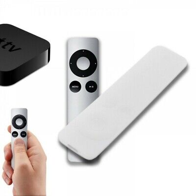 Funda Silicona Para Mando Apple Tv 3 Generacion Anti Golpes Siri Remote Blanco