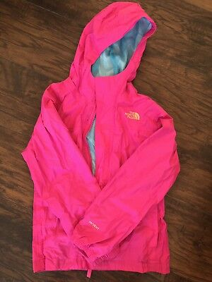 North Face Kids Girls Raincoat Size 10/12