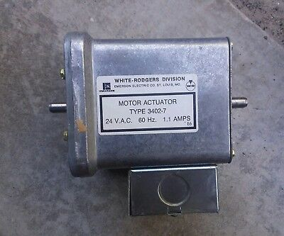 NEW White Rodgers 3402-7 Motor Actuator; Carrier Part #  24 VAC 1.1A
