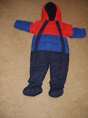 Baby Snowsuit. 9/12 Months. Marks & Spencer. Bn