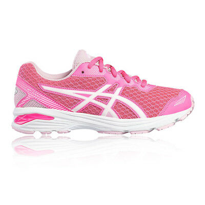 2e4c81ff310a6 Asics Gt 1000 5 Enfant Fille Rose Support Jogging Route Chaussures Sport  Baskets