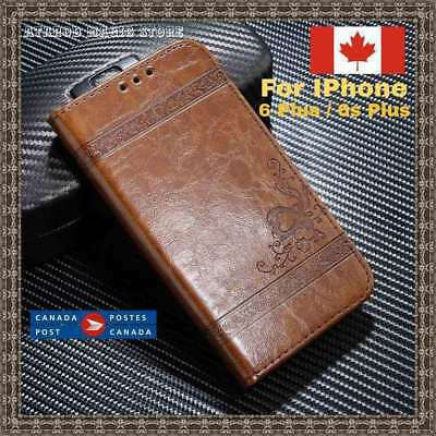 Luxury Leather Wallet Case For iPhone 6 Plus / 6S Plus Leather Cover Case wallet