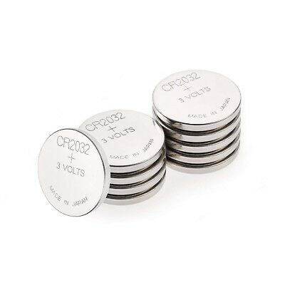 GP Batteries CR2032 3 V Lithium Button Cell Battery (Pack of 10)