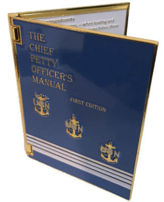 Chief Petty Officer CPO Manual Challenge Coin FREE SHIPPING