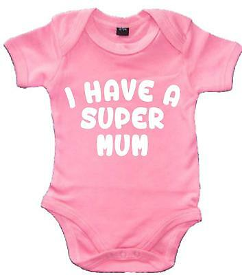 I Have a Supermum' Mothers Day Baby Bodysuit