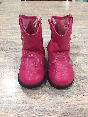 Toddler Girl Boots Size 4