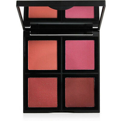 E.L.F. - Silky Smooth Blush Palette with 4 Gorgeous Shades Dark - 0.56 Ounce