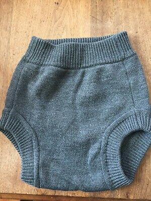 Sloomb Knit wool Diaper Cover Size Large