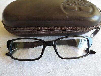 Timberland black glasses frames. TB 1183-1. With case.
