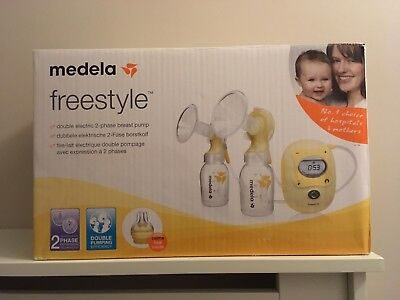 Medela Swing Maxi Double Electric Breast Pump- Nearly New