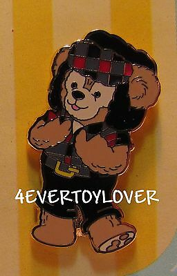 Disney PIN DUFFY BEAR NEW  CANADIAN COSTUME  free ship on all add pins