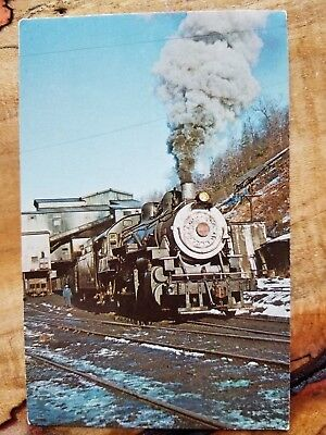Last Bc&g Run Out Of Widen, West Virginia 1963 Postcard