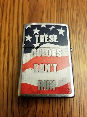 ZIPPO  VFW VETERANS OF FOREIGN WARS/These colors don't run