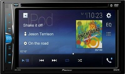 """Pioneer AVH-201EX Car Stereo DVD Receiver with 6"""" Display Screen Bluetooth USED☝"""