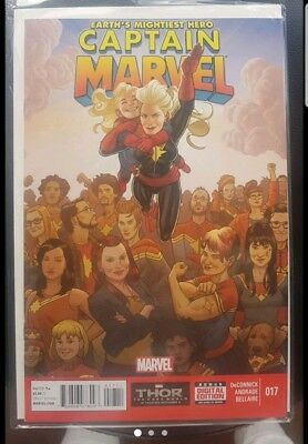 Captain Marvel 17 2014 MARVEL comics