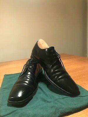 Loake black leather shoes, size 9.5 (UK), great condition, 253b, lace-up