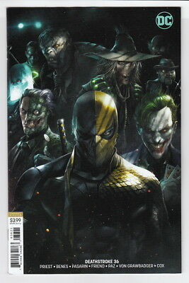 DEATHSTROKE (2016 DC) #36 VARIANT Francesco Mattina (ARKHAM) NM- B04483