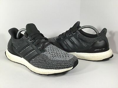 062c4a9ed Adidas Ultra Boost 2.0 Mystery Grey Charcoal White Black PK Mens Size 9  BB6056