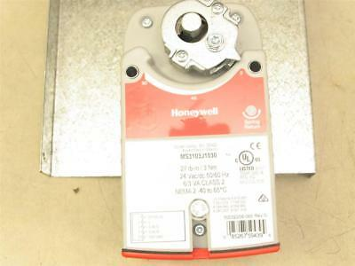 Honeywell MS3103J1030 Spring Return Direct Coupled HVAC Damper Actuator