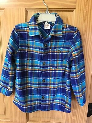 NWT Gymboree Snow Day Boys Flannel Plaid Long Sleeve Button Down Shirt 3T,4,14