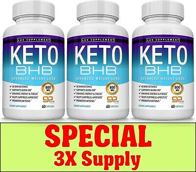 Keto Diet Pills Advanced Best Weight Loss To Burn Fat Fast Three Months Supply