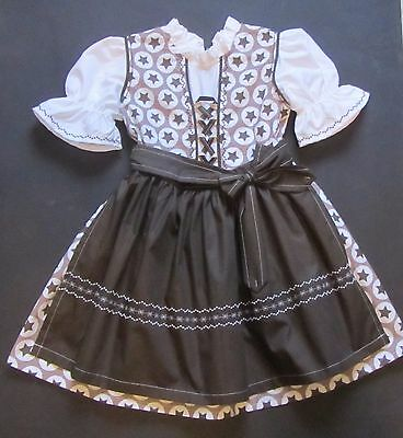 SALE NEW GERMAN Austrian Girls Dirndl Dress + Apron 4 years e3be419b3d