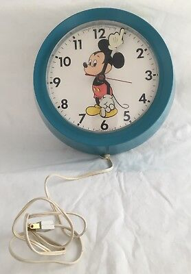 Welby by Elgin Mickey Mouse Wall Clock