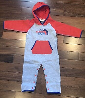 The North Face 18 Month Boy Fleece One Piece NWT
