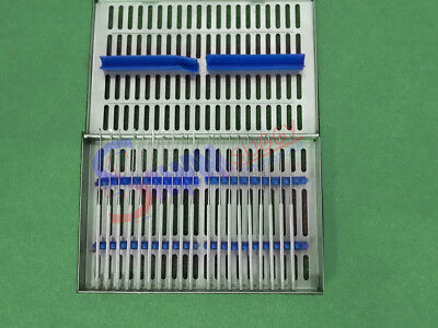 Rhoton Micro Dissector Expanded 20 pieces Set With Stainless Steel In Steel Case