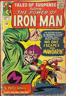 Tales of Suspense 52 1964 1st appearance of Iron Man's Post Proto-Classic Armor