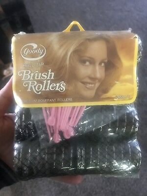 Vintage Goody Ball Tip Brush Rollers Curlers New In Package