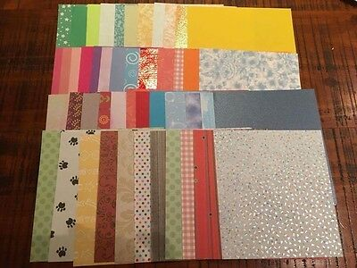 Bulk A4 X 40 Sheets/ Quality Paper and Card Stock/ Card Making And Scrapbooking