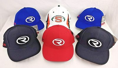 Richardson Baseball Cap Hat Lot of 6 Black Blue White Logo Large New