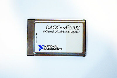 National Instruments NI DAQCard-5102 Scope Card