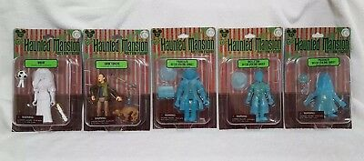 Disney The Haunted Mansion 40th Anniversary Complete Action Figure Set