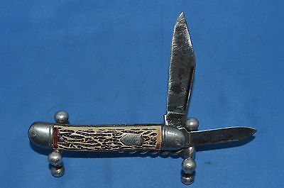 Colonial Vintage Original Pocket Knife Rare Model 550 2 Blade Pocket Knife