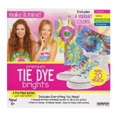Tie Dye Kit - Brand New- Tie Dye Brights makes 20 projects