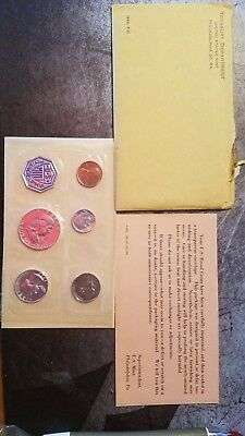 1963 Silver U.S. Proof Coins Set Complete with Envelope and COA #8