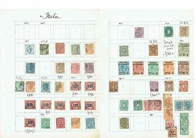 #453 Italy Italia collection early> M/U hinged 23leaves incl Postal History c£££