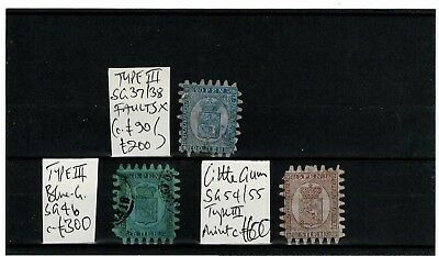 #446 Finland Suomi 18.. early serpentine roulette values M/U on card c~£1k (3)