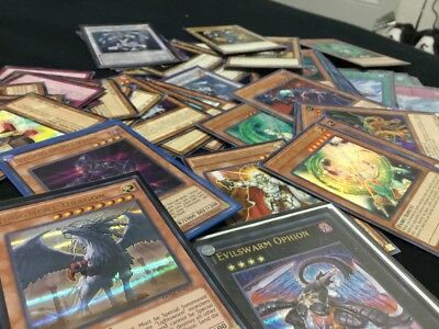 1000 Yugioh Cards Premium Collection Ultimate Lot W/ 50 Holo Foils & Rares!