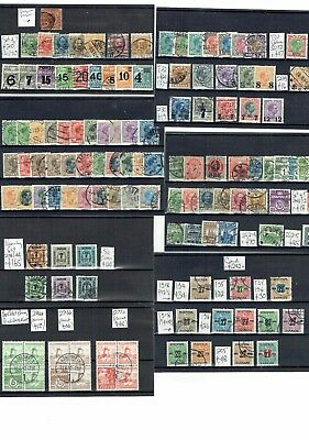 #567 Denmark Danmark from early collection on 7cards c£950+