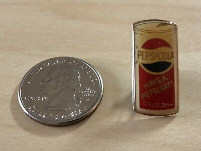 Pepsi Cola Have A Pepsi Day Vintage Can Pin Pinback #30044