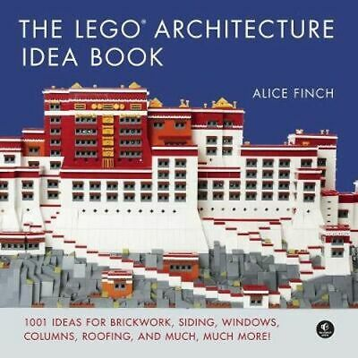 NEW The Lego Architecture Idea Book By Alice Finch Hardcover Free Shipping