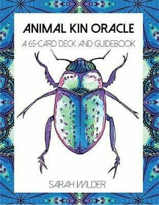 NEW Animal Kin Oracle By Sarah Wilder Card or Card Deck Free Shipping